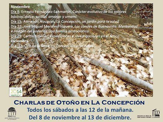 Charlas Otoño 2014