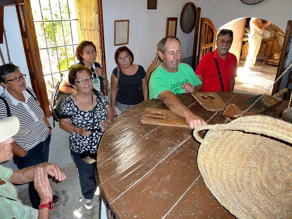 Visita al Molino morisco de los Corchos