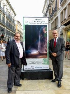 Autor con Sr. Alcalde